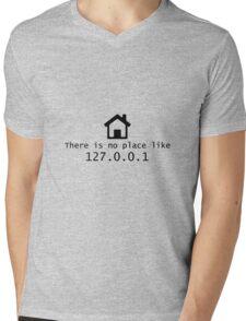 No place like Mens V-Neck T-Shirt