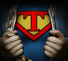 Super Logo T Movie Poster by adamcampen