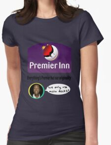 Team Premier Inn for Nationals Womens Fitted T-Shirt
