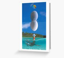 M Blackwell - The Sky Egg... Greeting Card