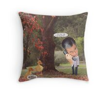 M Blackwell - Mr President... Throw Pillow