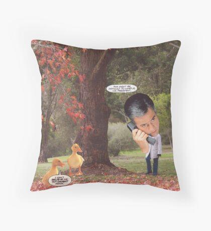 M Blackwell - Mr President... Throw Pillow