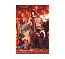M Blackwell - Madame Zinsky's House of Fun... Art Print