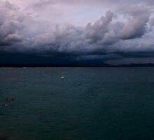 Byron Bay...a storm brewing. by Jordan Miscamble