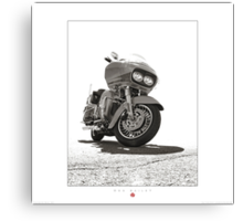Harley-Davidson Road Glide Canvas Print