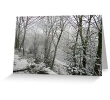 Snowscape Greeting Card