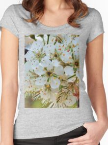 Tree blossoms Women's Fitted Scoop T-Shirt