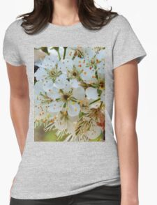 Tree blossoms Womens Fitted T-Shirt