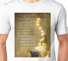 Recipe for Love Unisex T-Shirt