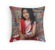 Eman Ali Throw Pillow