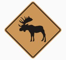 Moose Sign by SignShop
