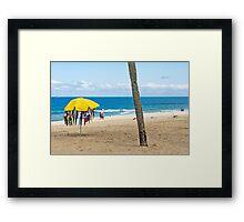 Praia de Ipanema Framed Print