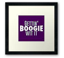 Gettin Boogie Wit It - Demarcus Cousins Framed Print