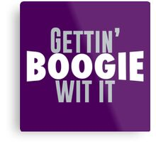 Gettin Boogie Wit It - Demarcus Cousins Metal Print