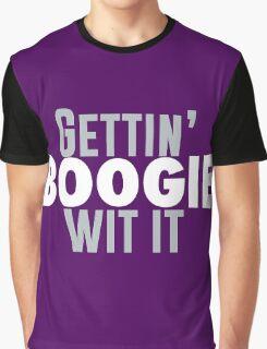 Gettin Boogie Wit It - Demarcus Cousins Graphic T-Shirt