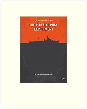 No126 My The Philadelphia Experiment minimal movie poster by Chungkong