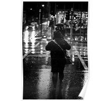 rainy day on elizabeth Poster