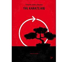 No125 My KARATE KID minimal movie poster Photographic Print