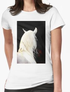 The White Horse Womens Fitted T-Shirt