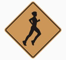 Jogger Sign by SignShop