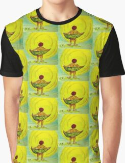 Toweling at the Moon Graphic T-Shirt