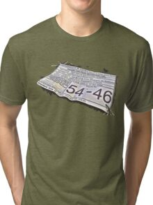 54-46 Was My Number Tri-blend T-Shirt