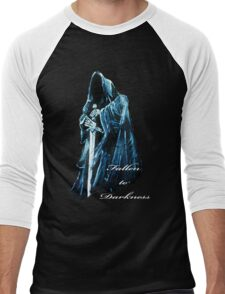 Fallen to Darkness Men's Baseball ¾ T-Shirt