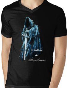 Fallen to Darkness Mens V-Neck T-Shirt