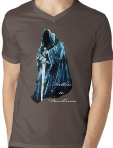 Fallen to Darkness Mens V-Neck T-Shirt