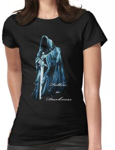 Fallen to Darkness Womens Fitted T-Shirt