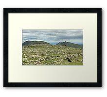 High Plains Drifter.. Framed Print