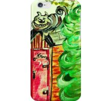 Outhouse Sentinel iPhone Case/Skin