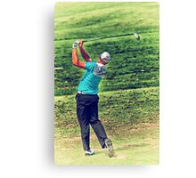 The Golf Swing Canvas Print