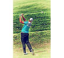 The Golf Swing Photographic Print