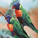 Two Friends. by Debra Freeman
