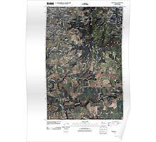 USGS Topo Map Washington State WA Spokane SE 20110503 TM Poster