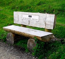 Little Wooden Bench by dawnandchris
