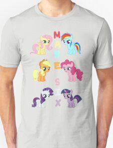 Mane 6 Fillies T-Shirt