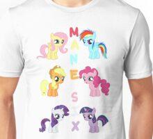 Mane 6 Fillies Unisex T-Shirt
