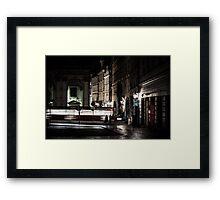 A Night in Prague Framed Print