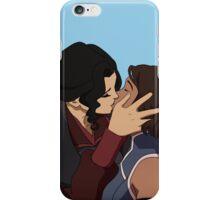 Korrasami kiss iPhone Case/Skin