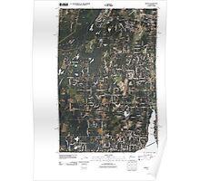 USGS Topo Map Washington State WA Burley 20110422 TM Poster