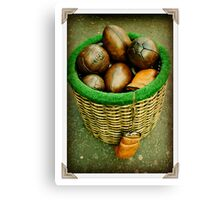What's In Your Basket! Canvas Print