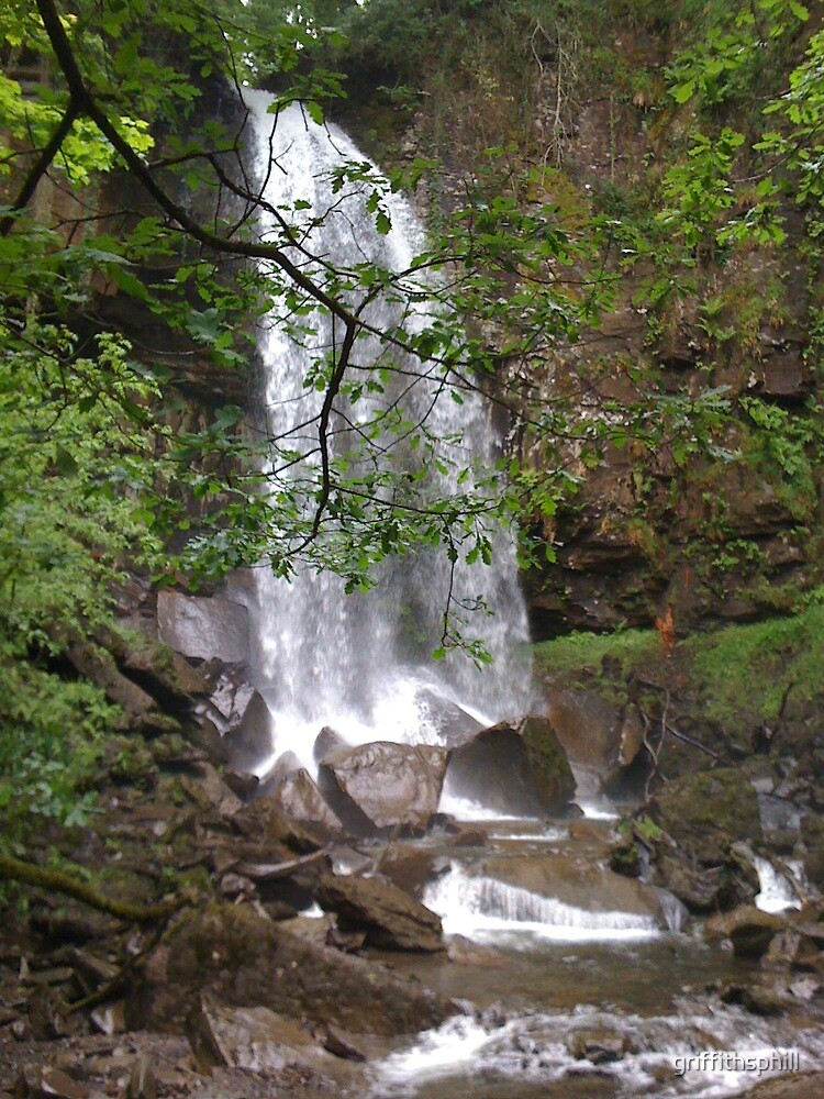 waterfall- camera phone taken by griffithsphill