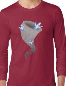Left Sharknado Long Sleeve T-Shirt