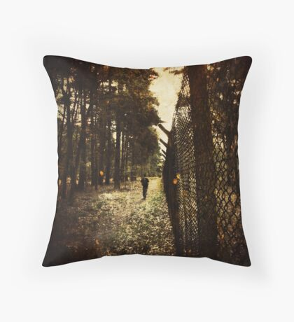 Fire walk with me Throw Pillow