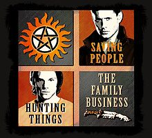 Supernatural - The Family Business by RisenShine22