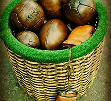 FOOTBALL'S by Lorraine Caballero Simpson (c more vision)