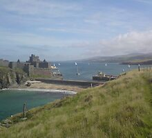 Peel Castle Isle of Man by youmeus