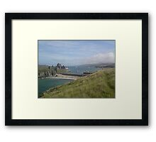 Peel Castle Isle of Man Framed Print